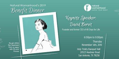 Natural Womanhood Benefit Dinner tickets