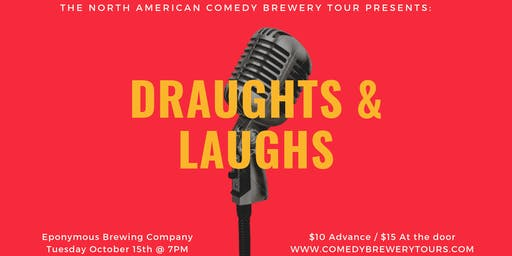 Draughts and Laughs: Comedy Show at Eponymous!