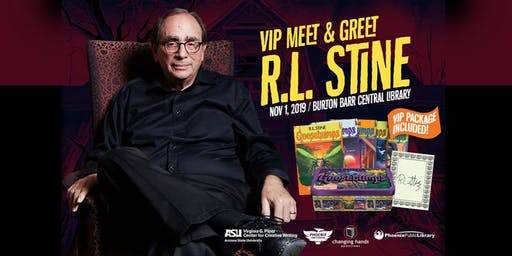 VIP Meet-and-Greet with R.L. Stine