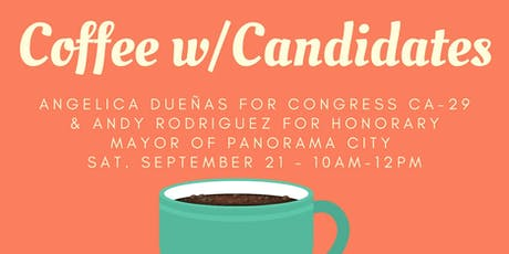 Coffee with Angelica Duenas & Andy Rodriguez tickets