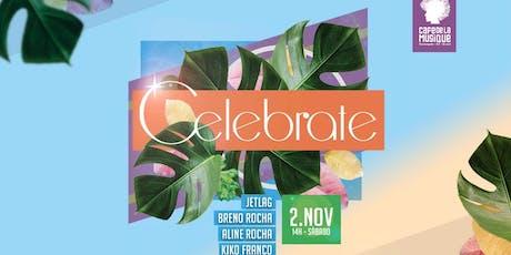 Celebrate  02/11 - Café de La Musique Floripa ingressos