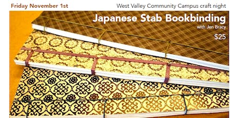 Japanese Stab Bookbinding tickets