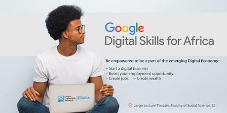 Google Digital Skills Training tickets
