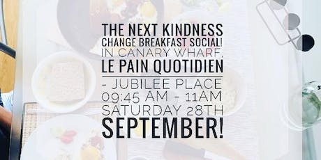 The Kindness Change Breakfast Social Launch! tickets