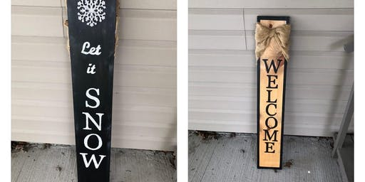 Front Porch Sign Party