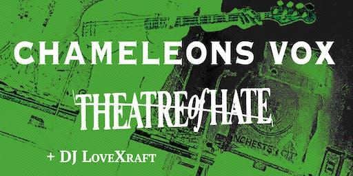 Chameleons Vox / Theatre of Hate / Jay Aston Live in Denver