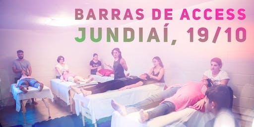 Curso Barras de Access //19 de outubro// Jundiaí // Saudare