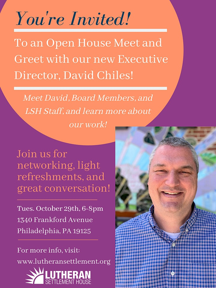 Open House Meet and Greet with David Chiles! image