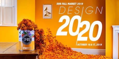 DDB Fall Market 2019 | Design 2020 tickets