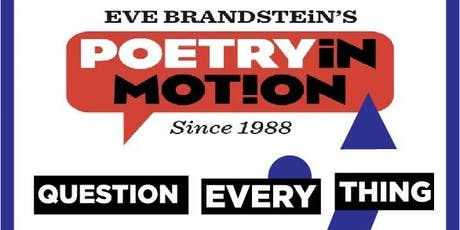 POETRY IN MOTION tickets