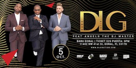 """DLG """"Dark Latin Groove"""" En Vivo en Baru Doral tickets"""