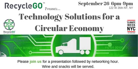 Technology Solutions for a Circular Economy  tickets