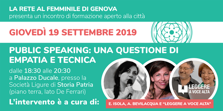 Public Speaking: una questione di empatia e di tecnica tickets