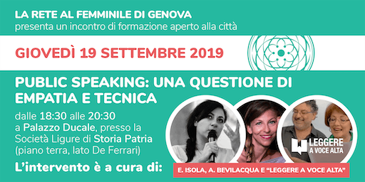 Public Speaking: una questione di empatia e di tecnica