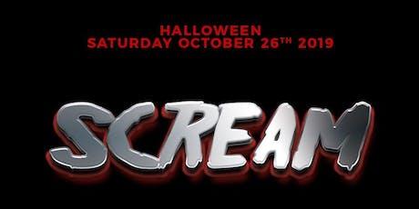 SCREAM - Halloween Saturday Inside Luxy Nightclub tickets
