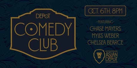 Depot Comedy Club: October Edition tickets