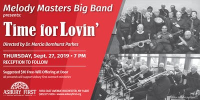 """Melody Masters Big Band presents """"Time for Lovin'"""" concert at Asbury First"""