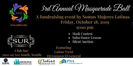 3rd Annual Masquerade Ball by Somos Mujeres Latinas tickets