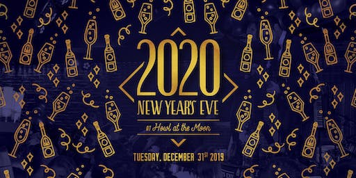 New Year's Eve 2020 at Howl at the Moon Houston!