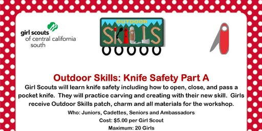 Outdoor Skills: Knife Safety Part A - Tulare