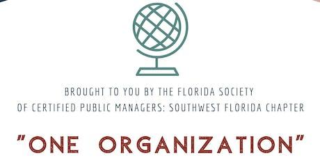 "CPM Lunch & Learn: ""One Organization"" tickets"