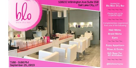 blo dry bar #bloheartsyou influencers night out  tickets