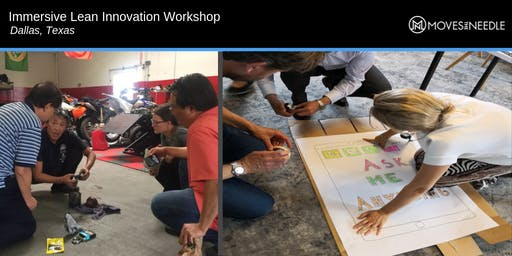 Immersive Lean Innovation Workshop: Lead change, drive transformation
