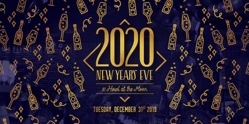 New Year's Eve 2020 at Howl at the Moon Indianapolis!