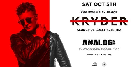 Kryder at Analog Brooklyn  tickets
