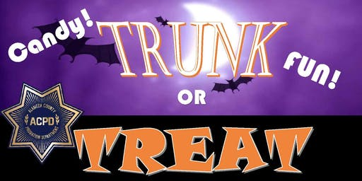 "Probation Department ""TRUNK OR TREAT"" 2019"