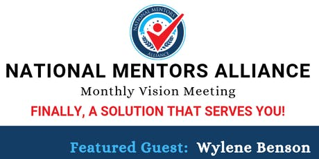 National Mentors Alliance Monthly Meeting tickets