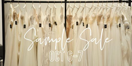 The Bridal Gallery Designer Sample Sale tickets