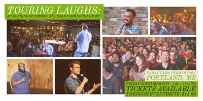 Touring Laughs:  An evening of comedy at Urban Farm Fermentory