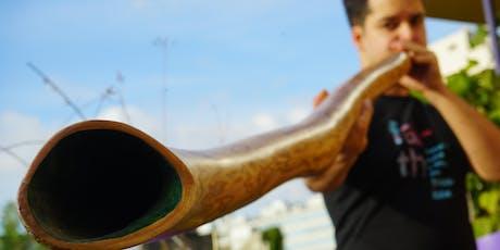 Taller de técnica y construcción de Didgeridoo entradas
