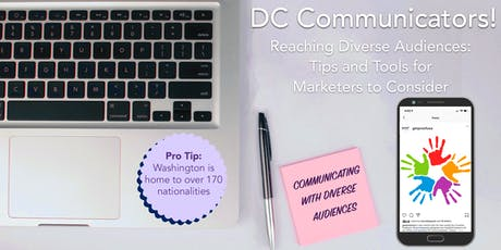 Reaching Diverse Audiences:  Tips and Tools for Marketers tickets