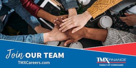 TitleMax Career Day in Kansas City, Missouri! tickets