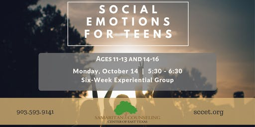 Social Emotions For Teens (Ages 11-13 & 14-16)
