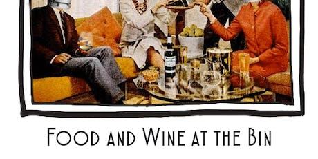 Binology 102: Food and Wine tickets