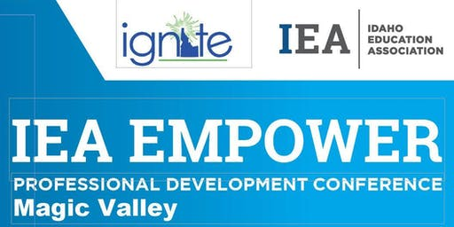 IEA -Region 4 - Early Career Educator EMPOWER Conference 2019 - Magic Valley
