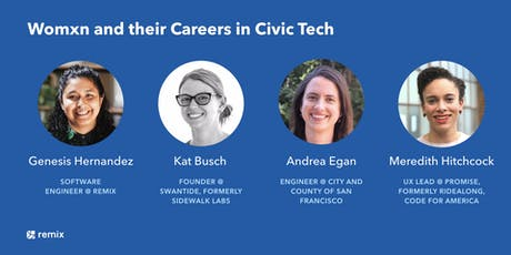 Womxn and their Careers in Civic Tech tickets