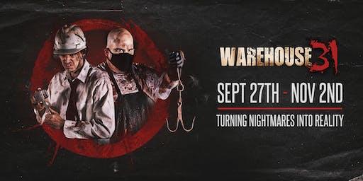 Haunted House - (Halloween) Warehouse31 - 10/31/19