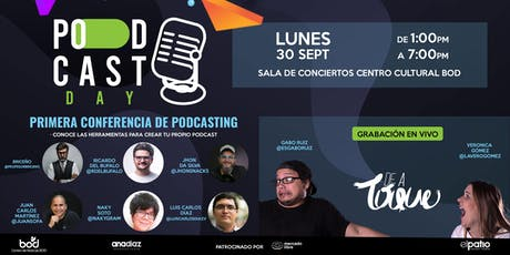 Podcast Day tickets