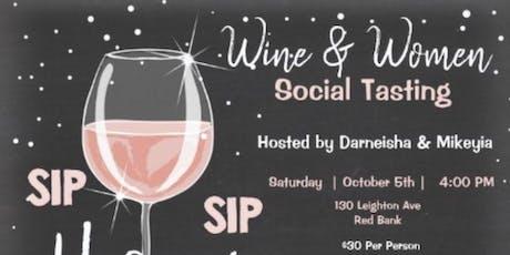 Wine & Women Social Tasting tickets