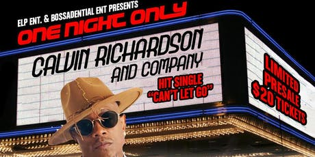 "Calvin Richardson ""One Night Only"" tickets"
