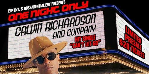 "Calvin Richardson ""One Night Only"""