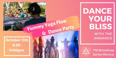 Dance Your Bliss with the Annands - Yummy Yoga Flow and Dance Party tickets