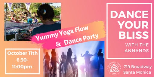 Dance Your Bliss with the Annands - Yummy Yoga Flow and Dance Party