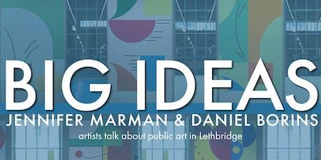 Big Ideas:  Jennifer Marman & Daniel Borins tickets