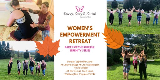 Autumnal Woman's Empowerment Retreat -Soulful Serenity Series