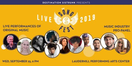 Destination Sistrunk presents: SongFest 2019 tickets